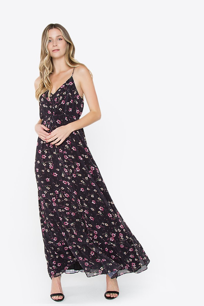Harper Ruffle Maxi Dress