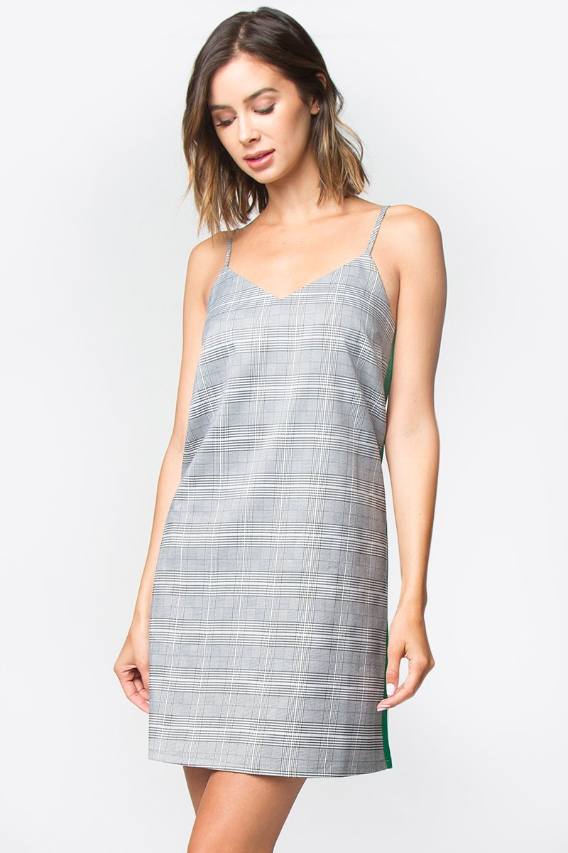 Lori Plaid Mini Dress