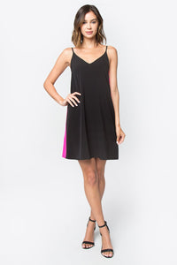 Love Struck Contrast Dress