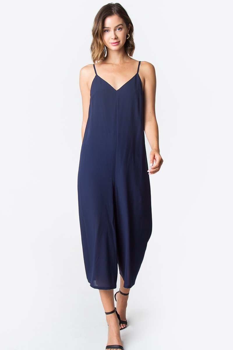 Merci Wide Leg Jumpsuit