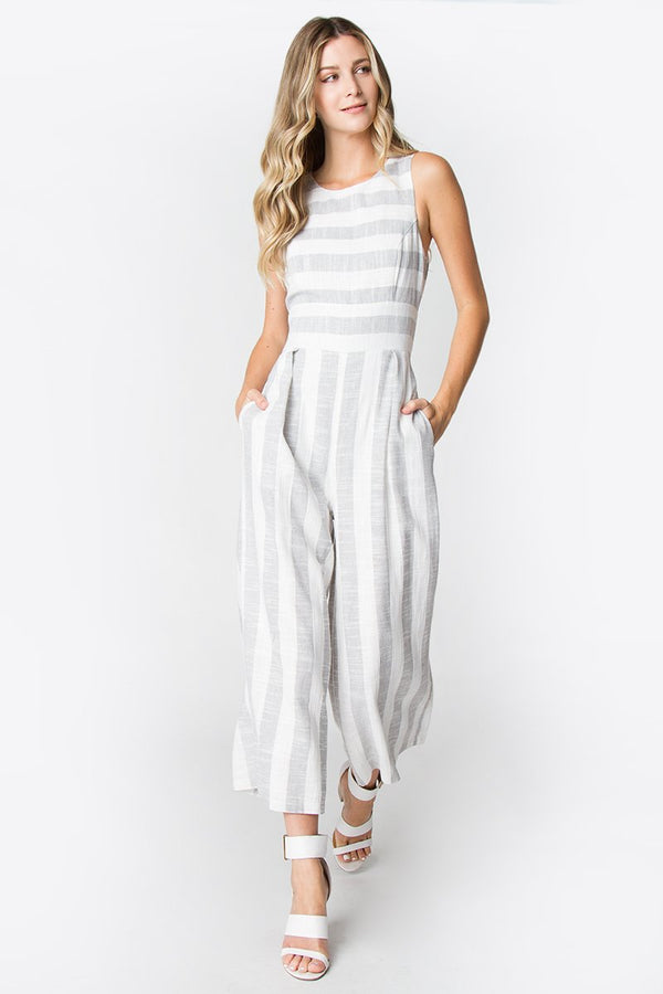 Lolli Striped Jumpsuit