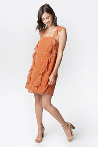 Beta Ruffle Dress
