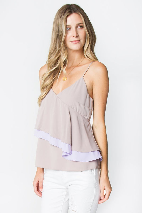 Sweet As Can Be Ruffle Top