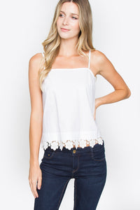 Laced Ambition Cropped Cami