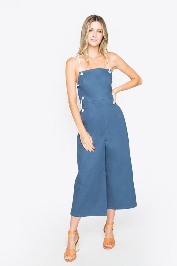 Daydream Lace Up Jumpsuit
