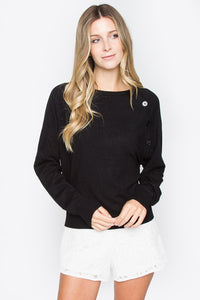 Bodhi Button Detail Sweater