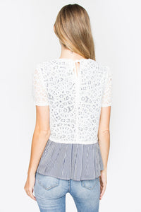 Cyra Lace Top