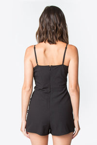 Sidra Lace Up Romper