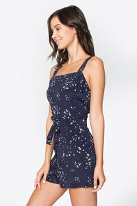 Star Gazed Lace Romper