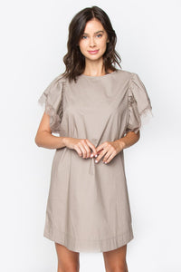 Camilia Crochet Trim Dress