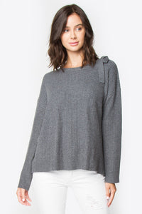 Donte Back Ribbon Detailed Sweater