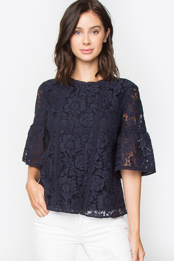 Moxie Lace Top