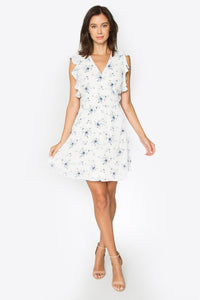Sammie Ruffle Wrap Dress