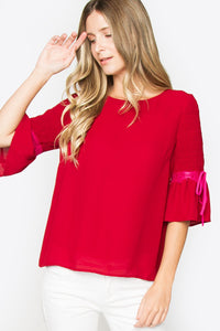 Rumer Contrast Lace Top