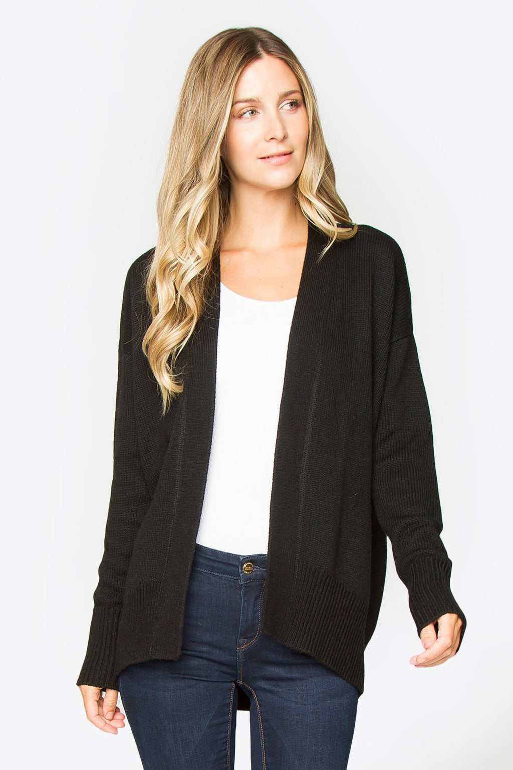 Emory Open Cardigan