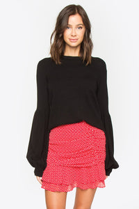 Rocco Balloon Sleeve Sweater