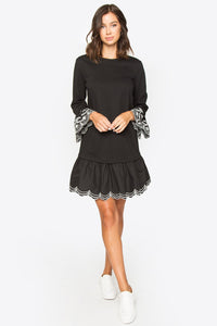 Brooky Embroidered Poplin Dress