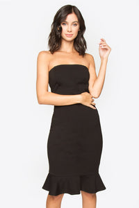 Demita Strapless Dress