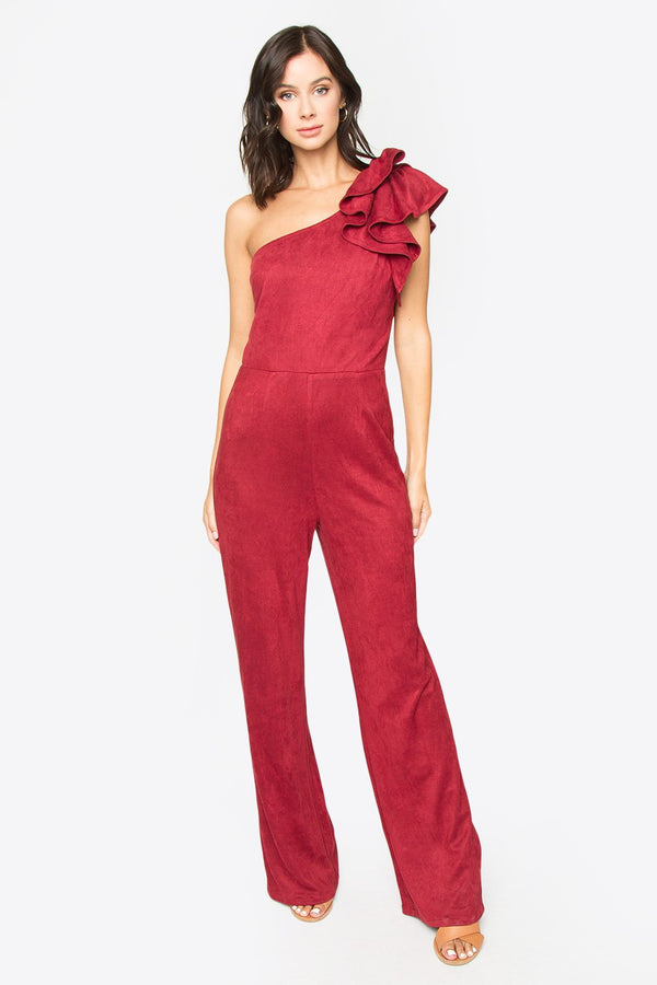 Sita One Shoulder Jumpsuit
