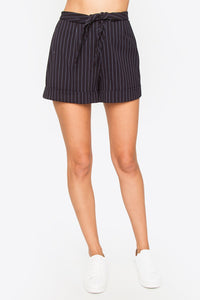Jackie Tie Front Shorts