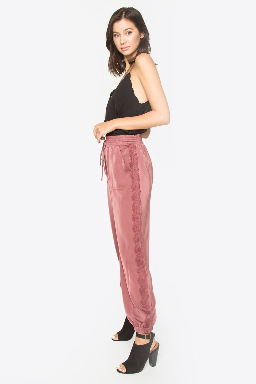 Savage Satin Joggers
