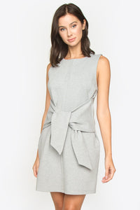 KeKe Tie Front Ponte Dress