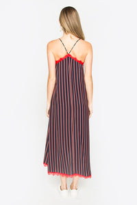 Jamay Striped Lace Dress