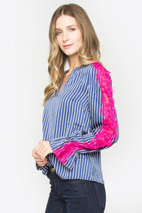 Solar Lace Sleeve Top