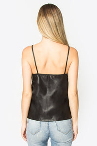 Cheeky Leather Cami