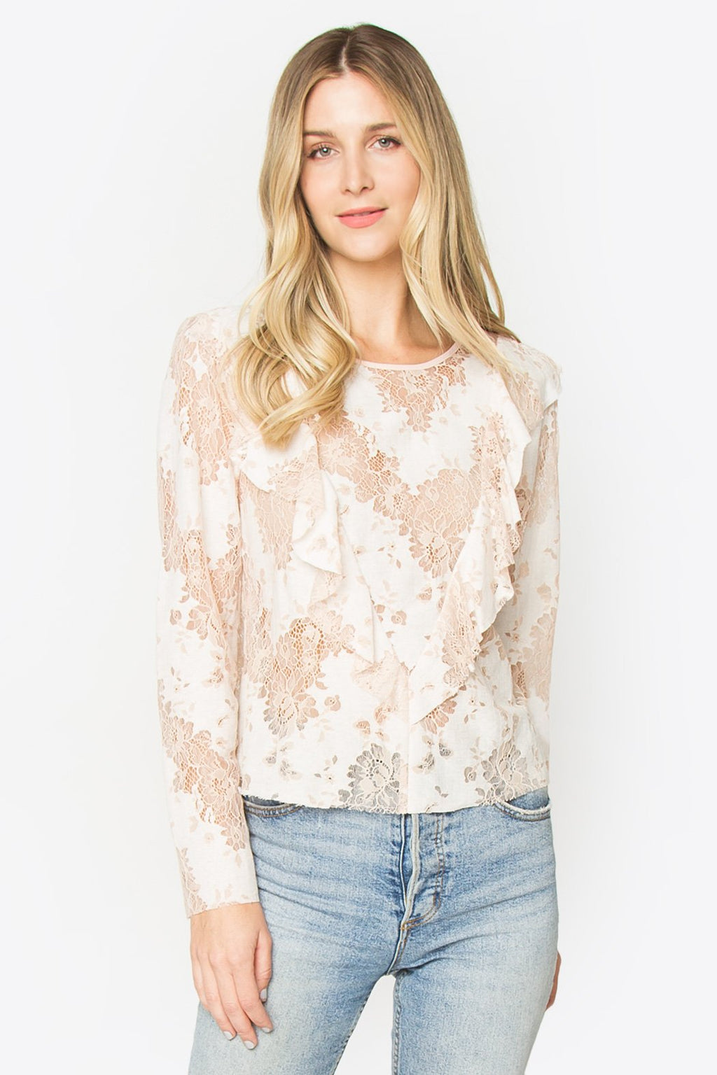 Sora Lace Top