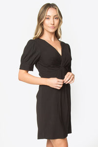 Ibis Puff Sleeve Dress