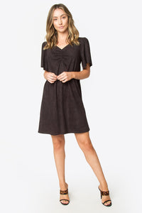 Kingfisher Suede Dress