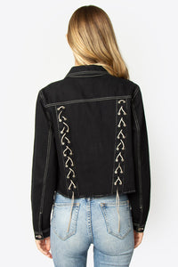 Ode To Joy Lace Up Jacket