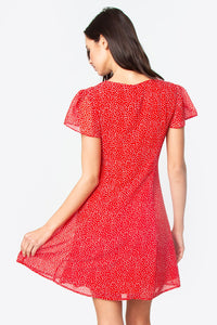 Riviera Polka Dot Dress