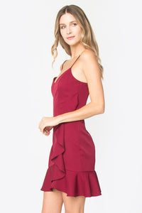 Rivina Ruffle Mini Dress