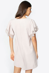 Giada Lace Trim Dress