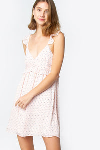 Mainsail Ruffle Cami Dress