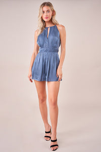 Anyway You Want It Halter Romper