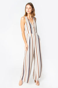 Axel Stripe Jumpsuit