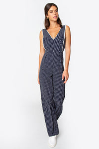 Christa Polka Dot Jumpsuit
