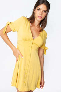 Tuscany Tie Sleeve Dress
