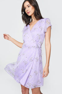 Aliyah Floral Wrap Dress