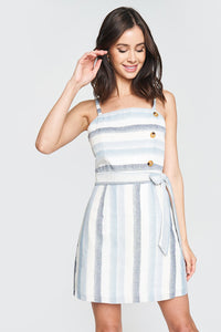 Shoreline Nautical Stripe Dress