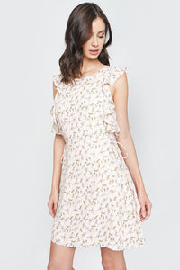 Perfect Illusion Floral Shift Dress