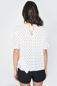 Moving On Star Print Blouse