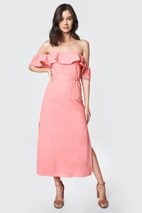Rosie Off The Shoulder Midi Dress