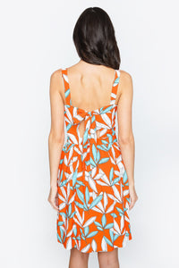 Rosita Floral Tie Back Dress