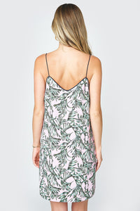 Jaide Contrast Piping Cami Slip Dress