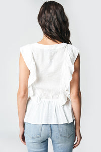 Chantal Ruffle Top