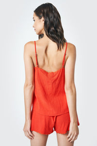 Rich In Love Scallop Edge Cami